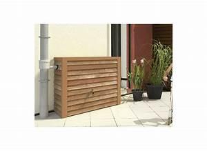 Recupérateur Eau De Pluie : recuperateur eau de pluie bois woody cuve 350 l garantia ~ Dailycaller-alerts.com Idées de Décoration