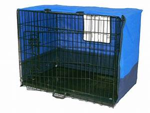 42quot xl 3 door pet dog crate enclosure and cover pen cage With xl dog kennel cover