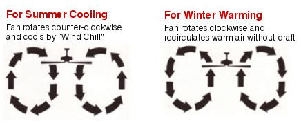 Ceiling Fan Rotation For Summer Months by Learn About Ceiling Fan Rotation Guide Lsusa