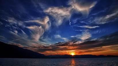 Sunset Breathtaking Wallpapers 2k Zug Zugersee Lake