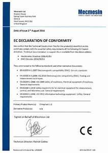 Ec Declaration Of Conformity  Crimptest