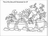 Coloring Perennials Ale Designs sketch template