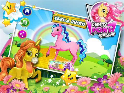 pony dress games pretty