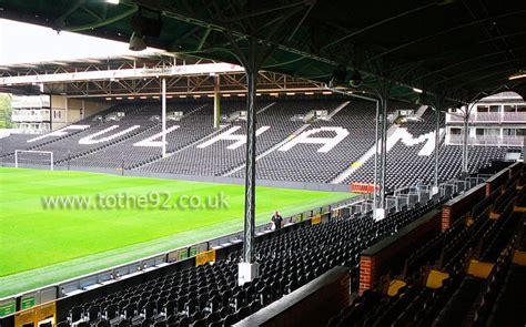 craven cottage seating plan football league ground guide fulham fc craven cottage