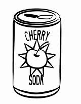 Coloring Drinks Soda Pages Coke Drawing Drink Clipart Soft Cans Cola Colouring Printable Cliparts Coca Template Clip Printables Getcolorings Clipartmag sketch template