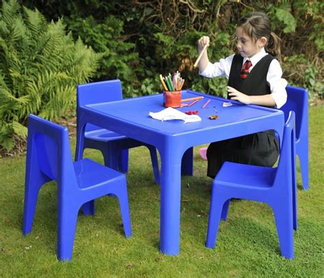 plastic table and chairs kids table and chairs plastic marceladick com