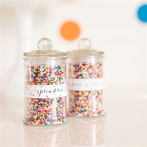 Sprinkle Jars by Check Out These 40 Ways To Fill Your Apothercary Jars