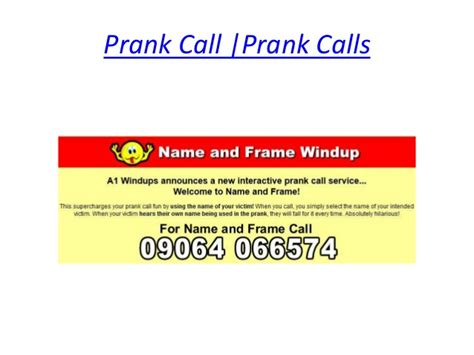 phone numbers to prank prank call numbers uk