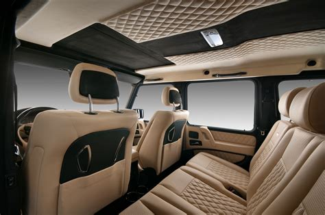 customized g wagon interior vilner mercedes g class