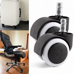 Seat Castres : new 10pcs polyurethane rubber office chair casters replacement swivel wheels ebay ~ Gottalentnigeria.com Avis de Voitures