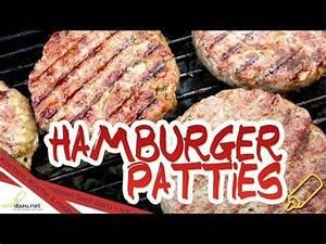 Hamburger Grillen Rezept : patties rezept saftige homemade burger patty 39 s selber machen youtube grillen in 2019 ~ Watch28wear.com Haus und Dekorationen