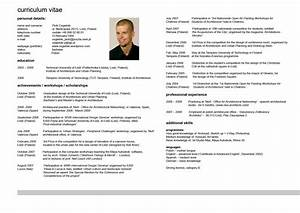 curriculum vitae resume cv With cv and resume