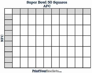 printable super bowl squares 50 grid office pool super With printable superbowl squares template