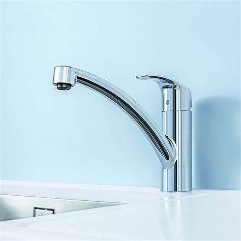 grohe kitchen sink taps grohe eurosmart basin mixer 33265002 deck mounted chrome 4103