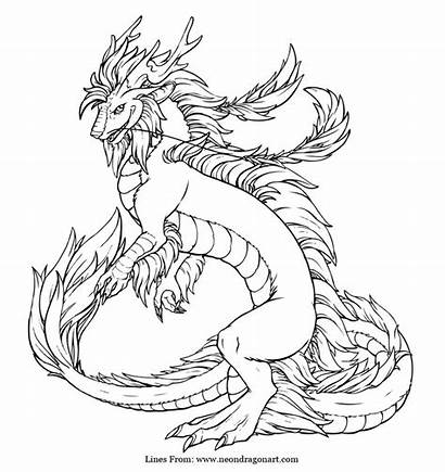 Dragon Coloring Realistic Imperial Pages Getcoloringpages