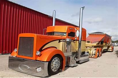 Texas Peterbilt Custom Truck Chrome Trocas Wallpapers