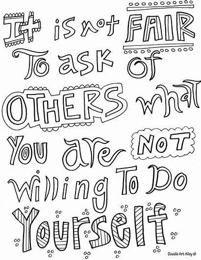 Coloring Quotes Pages Inspirational Quotesgram