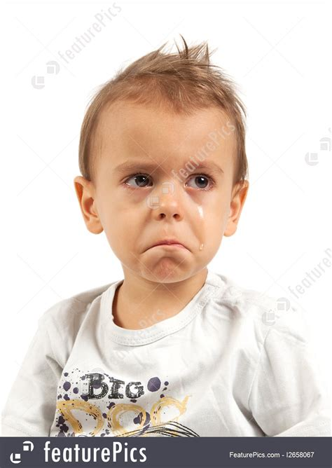 picture  crying boy