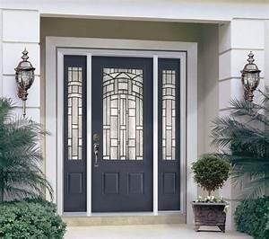 Fiberglass Steel Doors Traditional Exterior Tampa