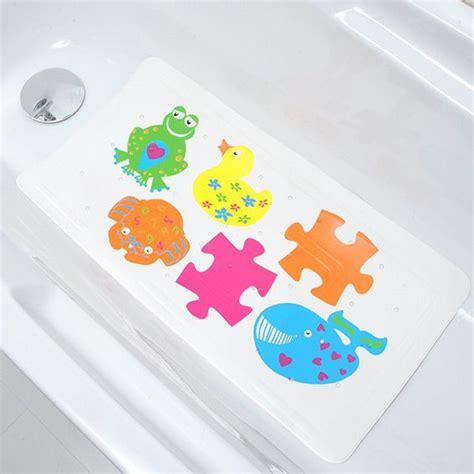 tapis de fond de baignoire anti d 233 rapant enfant multicouleur eminza