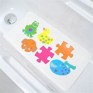tapis de fond de baignoire anti derapant enfant With tapis enfant avec canapé faible largeur