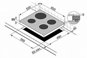 Dimension Plaque De Cuisson : plaque induction de dietrich dti 706x inox dti706 ~ Dailycaller-alerts.com Idées de Décoration
