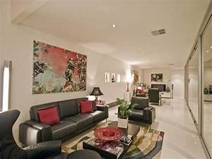 la peinture abstraite dans l39interieur contemporain With salon de jardin contemporain 9 l vase en verre un joli detail de la deco