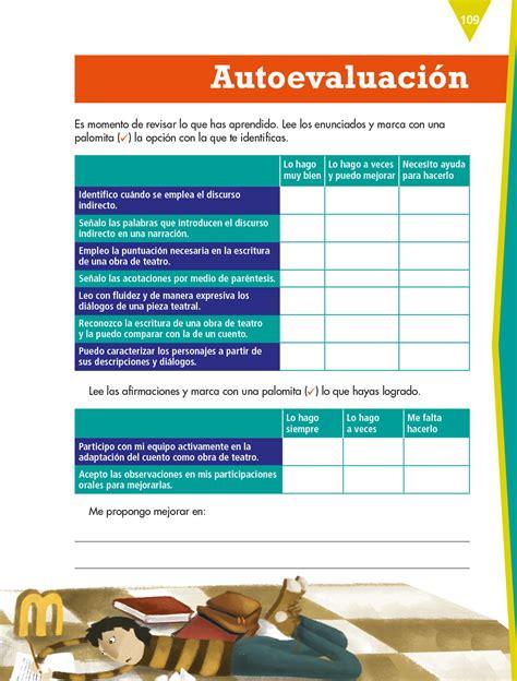 Check spelling or type a new query. Español Sexto grado 2020-2021 - Página 109 de 185 - Libros ...