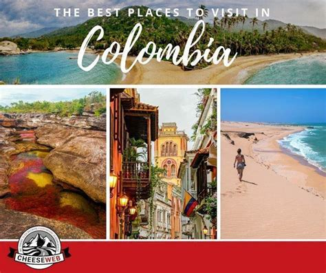 places  visit  colombia south america