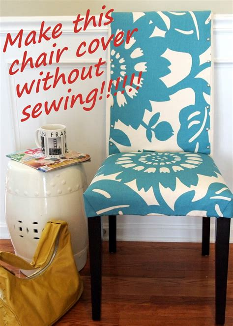 patron housse de chaise loveyourroom my morning slip cover chair project