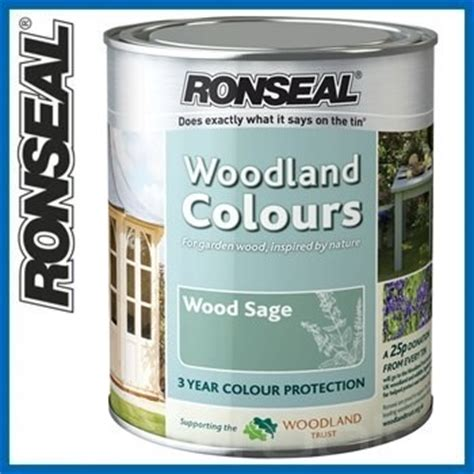 ronseal garden furniture paint wood sage litres