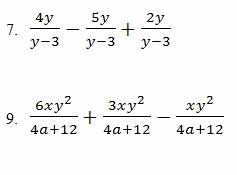 Fraction Graph Chart Adding And Subtracting Rational Expressions Worksheet Pdf