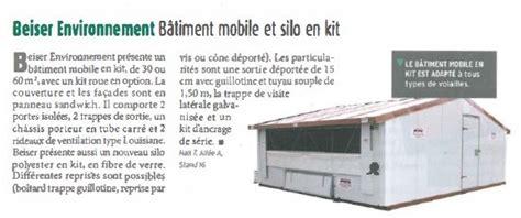 chambre froide mobile bâtiment mobile et silo en kit
