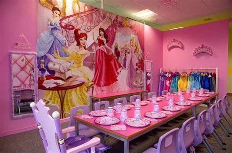 Princess Tea Party Room At Kids'n'action  Picture Of Kids