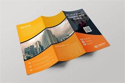 Brochure Template Fold Tri Creative Paris Templates