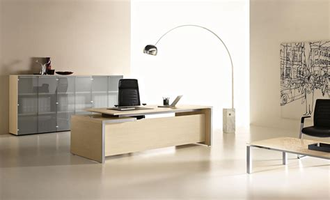 Eos Office Desk With Drawers By Las Mobili
