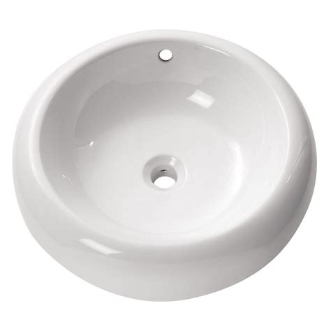 above counter kitchen sinks avanity above counter vessel sink in white cve500rd the 3957
