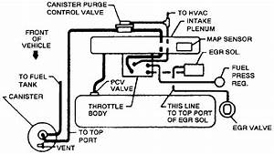 Vacuum Line Diagram For 1999 Chevy S10