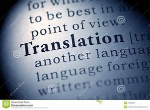 Translation Stock Images