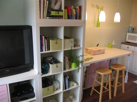 workspace cool home office  ikea expedit desk
