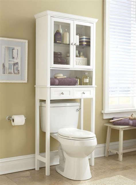 bathroom  toilet etagere  create  elegant spot