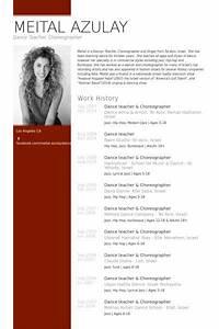 Computer Engineer Resume Objective Dance Teacher Choreographer Resume Example Lifelong