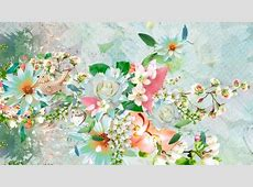 Spring Shining Flowers & Nature Background Wallpapers on