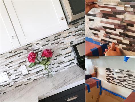 Diy Kitchen Tile Backsplash by Top 20 Diy Kitchen Backsplash Ideas