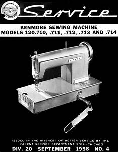 Kenmore Sewing Machine Instruction Manuals And Repair Manuals