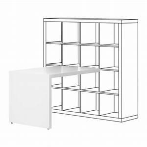 Ikea Schreibtisch Mit Regal : ikea kallax schreibtisch in wei 115x76cm b rotisch ebay ~ A.2002-acura-tl-radio.info Haus und Dekorationen