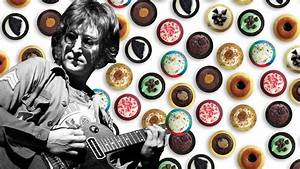 A Giant Peace Sign Made Of Cupcakes For John Lennon U0026 39 S 75th