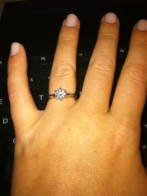 my sparkly engagement ring weddingbee photo gallery
