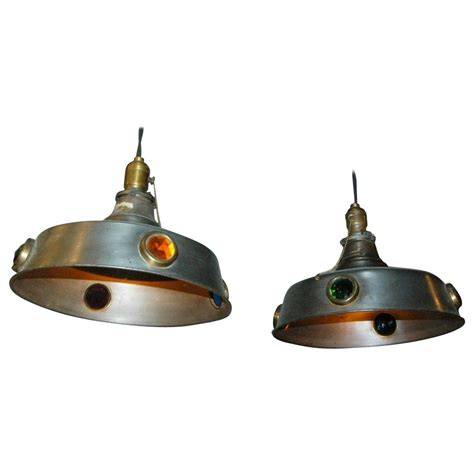 arts and crafts billiard pool table pendant lights for