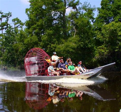 fan boat tour new orleans airboat adventures near new orleans louisiana